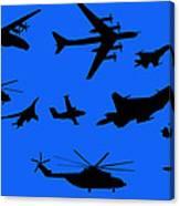 Russian Aviation Canvas Print