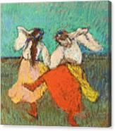 Russian Dancers Canvas Print