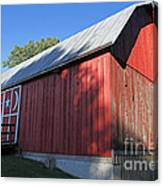 Rustic Red Barn  Canvas Print