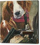 Rusty - A Hunting Dog Canvas Print