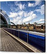 Sage Gateshead And Newcastle Skyline Canvas Print