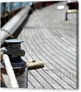 Sail Boat Rope Canvas Print