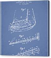 Sailboat Patent From 1996 - Vintage Canvas Print