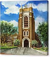Saint Andrews Episcopal Church Bryan Texas Canvas Print