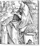 Saint Barbara (c200 Canvas Print