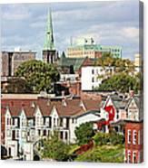 Saint John New Brunswick Canvas Print
