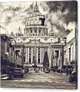 Saint Peters Basilica Rome Canvas Print