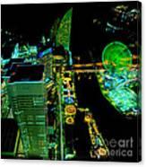 Sakuragicho At Night Canvas Print