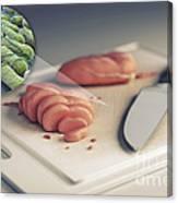 Salmonella Contamination Canvas Print
