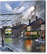 Salop Street Dudley C 1950 Canvas Print