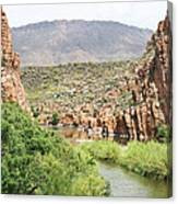 Salt River Above Roosevelt Lake Canvas Print