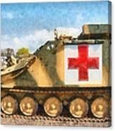 Samaritan Ambulance Canvas Print