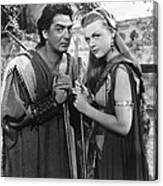 Samson And Delilah, From Left Victor Canvas Print