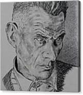 Samuel Beckett Canvas Print