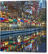 San Antonio Riverwalk Canvas Print