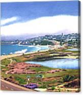 San Elijo And Hwy 101 Canvas Print