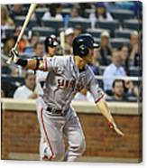 San Francisco Giants V New York Mets Canvas Print