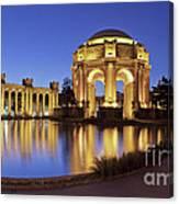 San Francisco Palace Of Fine Arts Theatre Canvas Print