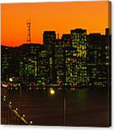 San Franscisco Ca Canvas Print