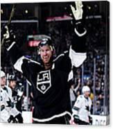 San Jose Sharks V Los Angeles Kings - Canvas Print