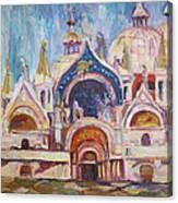 San Marco Square Canvas Print