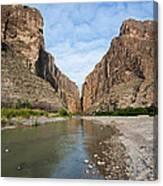 Santa Elena Canyon Canvas Print