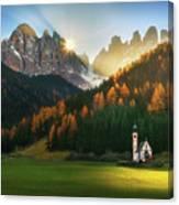 Santa Maddalena... Canvas Print