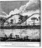 Saratoga: Encampment, 1777 Canvas Print