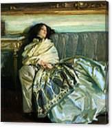 Sargent's Repose Canvas Print