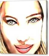 Scarlette Johanson Canvas Print