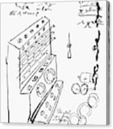 Schickard Calculator Canvas Print