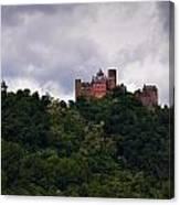 Schonburg Oberwesel Am Rhein Canvas Print