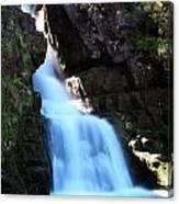 Scotish Waterfall  Canvas Print