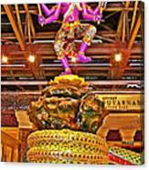 Sculpture At Bangkok Airport-thailand  Canvas Print
