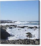 Sea Foam Canvas Print
