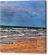 Sea Sand Wc Canvas Print