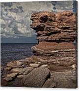 Sea Stack At North Cape On Prince Edward Island Canvas Print