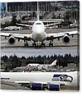 Seahawks 747 Canvas Print