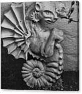 Seahorse Of The Garden Canvas Print