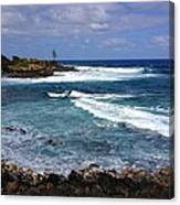 Secluded Cove Kauai Canvas Print