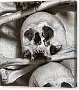 Sedlec Ossuary - Charnel-house Canvas Print