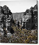 Sedona Rock Formations Canvas Print