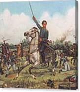 Seguin At San Jacinto Canvas Print