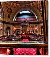 Senate Chamber Canvas Print