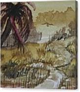 Sepia Sunrise Canvas Print