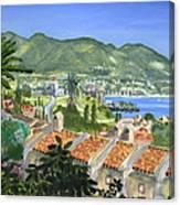 Serene Coast Canvas Print