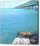 Seven Mile Bridge-2 Canvas Print