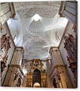 Seville Cathedral Interior Canvas Print