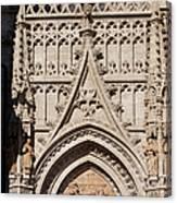 Seville Cathedral Ornamentation Canvas Print