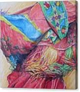 Shawl Dancer Canvas Print